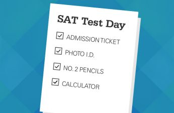 Graphic Design SAT Test Day Checklist