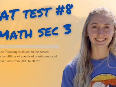 SAT Practice Test #8 Math No-Calculator 1-20 Video Explanations